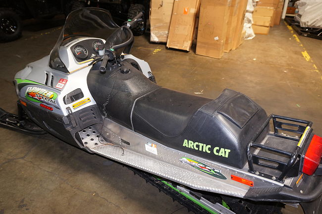 ARCTIC CAT POWDER SPECIAL 600 фото СН128  (art-00115681) 4