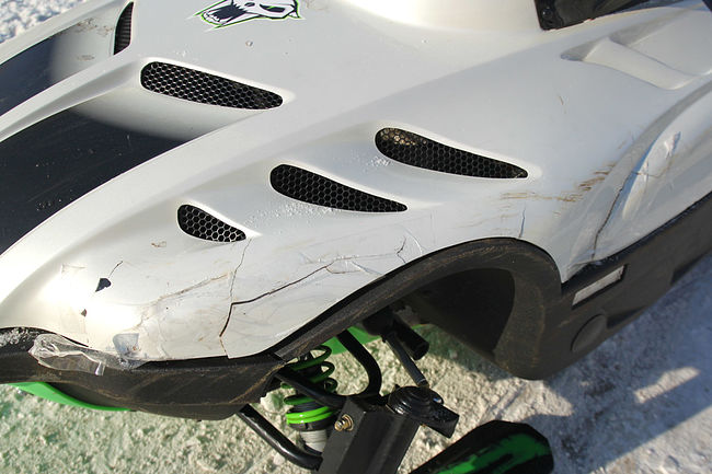 ARCTIC CAT POWDER SPECIAL 600