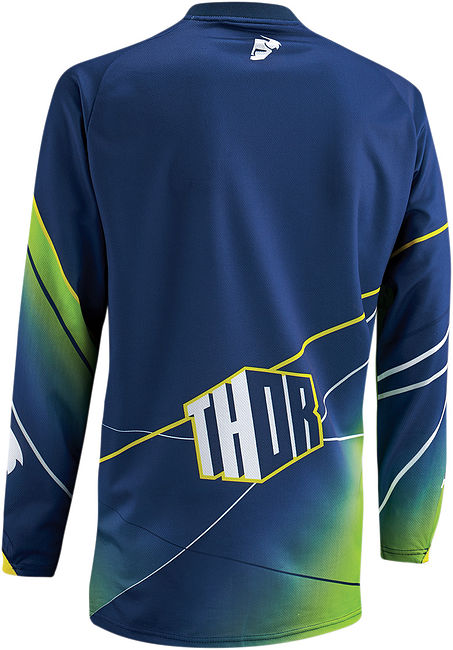Джерси Thor Phase Prism, blue/green, XL