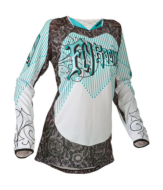 джерси женская Fly kinetic,Teal/White,S цена 368-624S  (art-00140564) 1