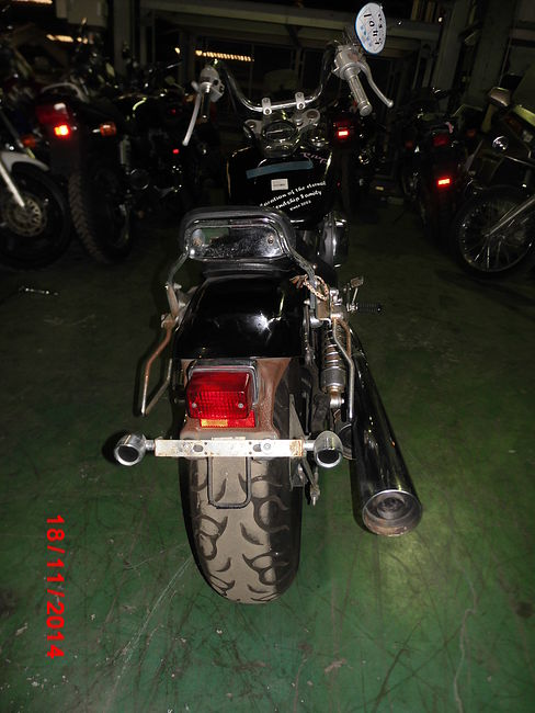HONDA SHADOW 400 SLASHER цена NMB10197  (art-00124478) 3
