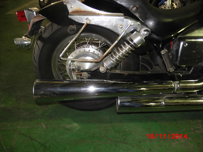 HONDA SHADOW 400 SLASHER продажа NMB10197  (art-00124478) 11