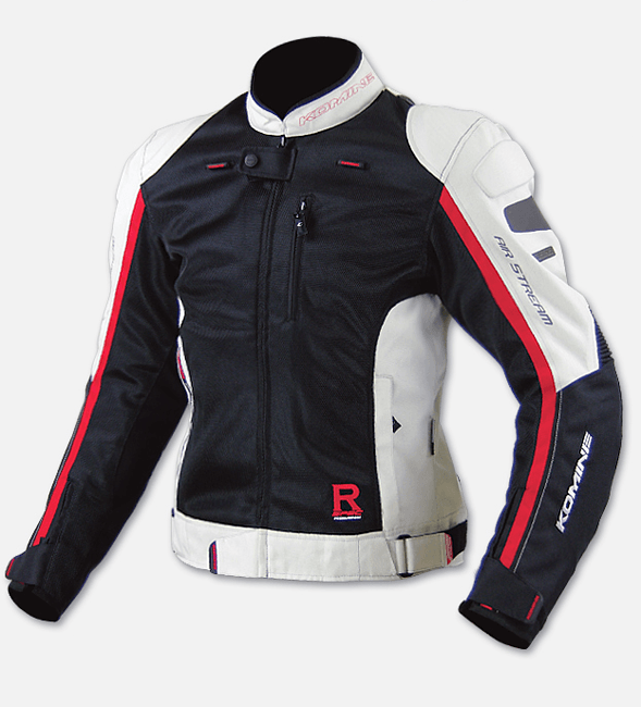 куртка Komine JK-043 SPORTS R-SPEC black/ivory