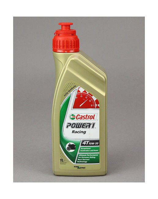 Масло Castrol Power 1 Racing 4T 10W50, 1 л, синтетика