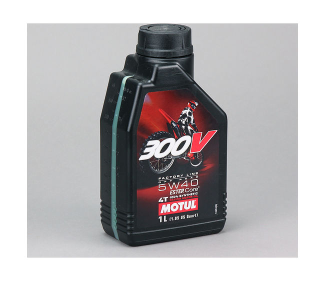 масло Motul 300V 4T Factory Line Off Road 5W40, 1 л, синтетика цена 104134  (art-00120946) 1
