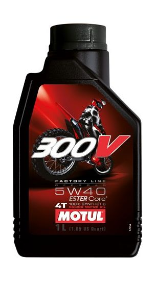 масло Motul 300V 4T Factory Line Off Road 5W40, 1л цена   (art-00134281) 1