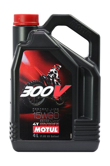 масло Motul 300V 4T Off Road 15W60, 4 л, синтетика цена 104138  (art-00128396) 1