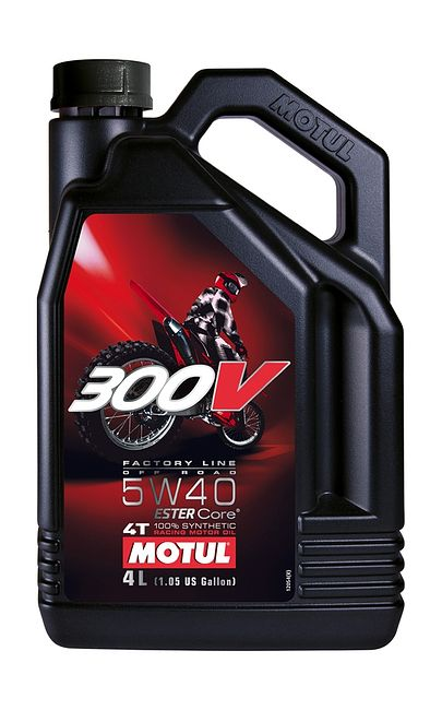 масло Motul 300V 4T Off Road 5W40, синтетика, 4 л цена 104135  (art-00117970) 1