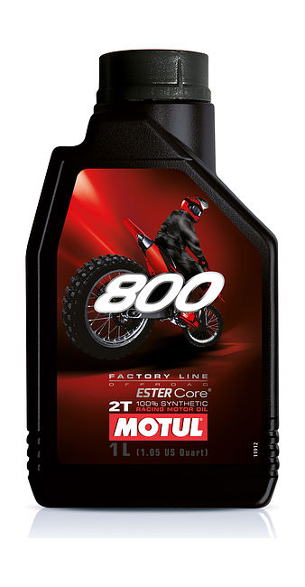 масло Motul 800 2T Factory Line Off Road, 1 л синтетика цена 104038  (art-00128423) 1