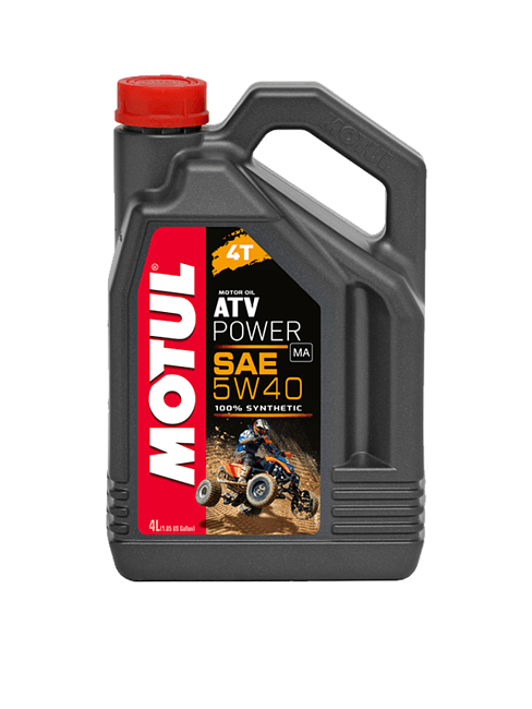 масло Motul ATV Power 4T 5W-40 100% синт, 4л цена 105898  (art-00142178) 1