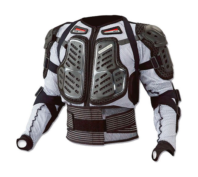 Komine SK-677 Armor jacket, grey, SM, price, 046770020030,  art-00072483(1) | partsmoto.com