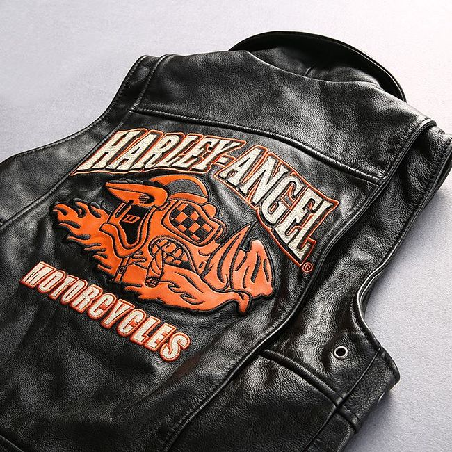 мотожилет HARLEY-ANGEL CV, чёрный, XL