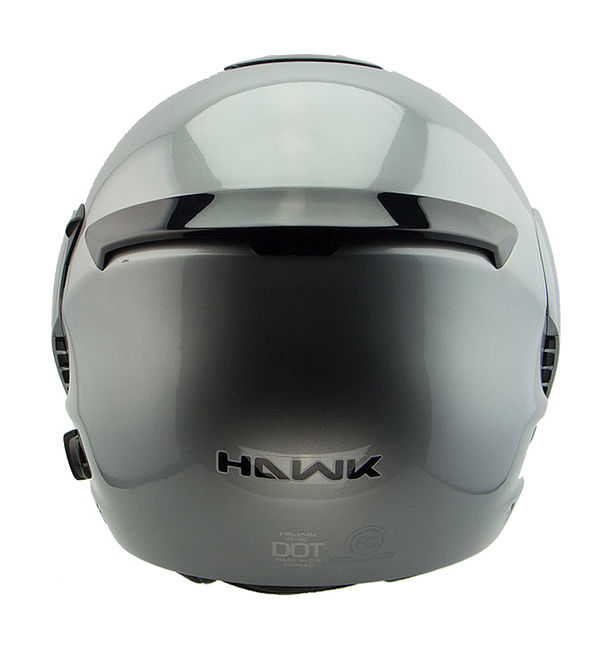 шлем модуляр Hawk H-6618 Blinc Bluetooth, серый, L