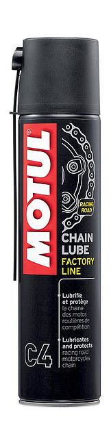 смазка цепи Motul C4 Chain Lube Factory Line, 0,4 л цена 102983  (art-00104604) 1
