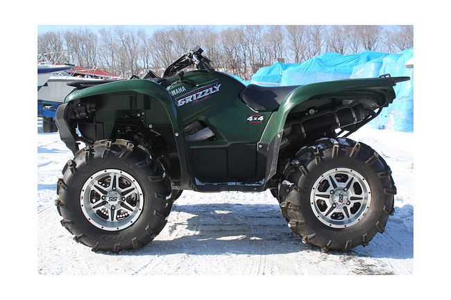 YAMAHA GRIZZLY 700 FI продажа скв50  (art-00110229) 3