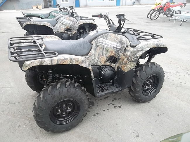 YAMAHA GRIZZLY 700FI купить скв51  (art-00113061) 1