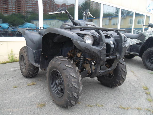 Yamaha Grizzly 700FI цена скв80  (art-00119795) 1