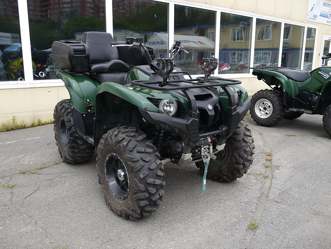 Yamaha Grizzly 700FI купить скв63  (art-00116984) 1