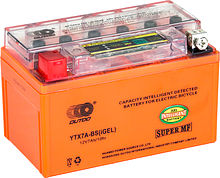 Battery gel with indicator Outdo 070 YTX7A-BS IGEL, 7 Ah, 150h86h94 mm