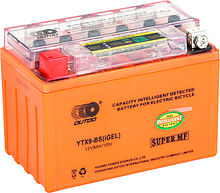 Battery gel with indicator Outdo 090 YTX9-BS IGEL, 9 Ah, 150h86h108 mm