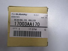 Bearing cyl roller