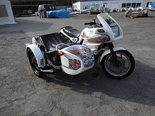BMW K100RS SIDE CAR