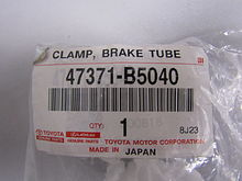 Clamp, fuel tube, no.2