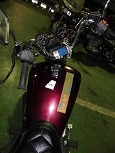 HONDA NV400 CUSTOM фото NMB9153  (art-00008270) 5