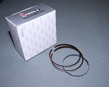Piston rings D40 2T 0.25 S. E. E (TW)