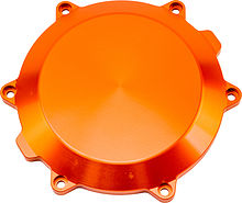Clutch cover KTM SX-F 450/505 07-12, SMR 450 08-12, XC-F 450/505 08-11 orange