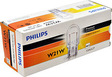 Лампа W21W 12V STD, Philips