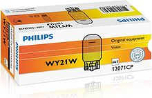 Лампа WY21W 12V STD, Philips