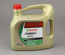 Масло Castrol Power 1 Racing 4T 10W50, 4 л, синтетика