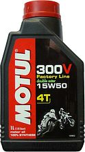 Масло Motul 300V 4T FL Road Racing 15W50, 1 л, синт