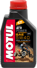 Масло Motul 4T ATV Power 5W40, синтетика, 1л