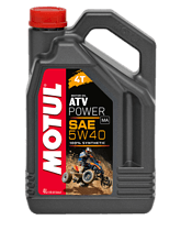 Масло Motul ATV Power 4T 5W-40, синтетика, 4 л