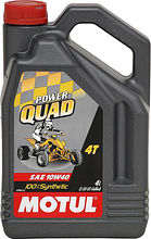 Масло Motul Power Quad 4T 10W40, синтетика, 4 л