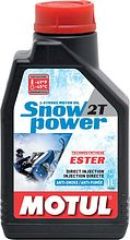 Oil Motul Snowpower 2T, 1 l, semi-synthetic motor oil