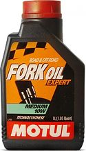 Масло вилочное Motul Fork Oil Expert Medium 10W, 1 л полусинтетика