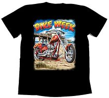 Футболка байкерская Bike week, 2XL