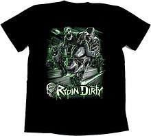Футболка байкерская Rydin dirty, 2XL