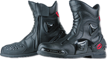 Ankle boots Komine BK-067 p sport blk 26