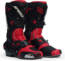 Probiker B1003 Boots, red, 42