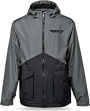 Fly Racing Pit Jacket, black/grey, M