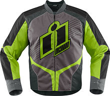 Icon Overlord Jacket, green, M