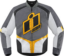 Icon Overlord Jacket, yellow, S