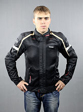 мотокуртка Komine JK-047 slim fit riding blk 4xl цена 070470015100  (art-00089613) 2