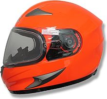 AFX FX-90SE Integral Helmet, orange, S
