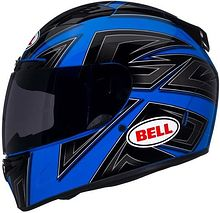 Шлем Bell интеграл Vortex Flack, black/blue, S