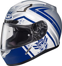 HJC CL-17 Mech Hunter Integral Helmet, blue, XL